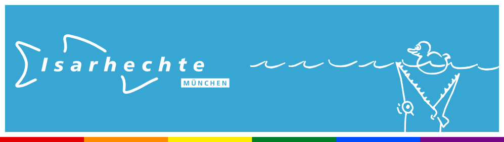 Herzlich Willkomen bei den Isarhechten – Münchens schwul-lesbischer Schwimmverein